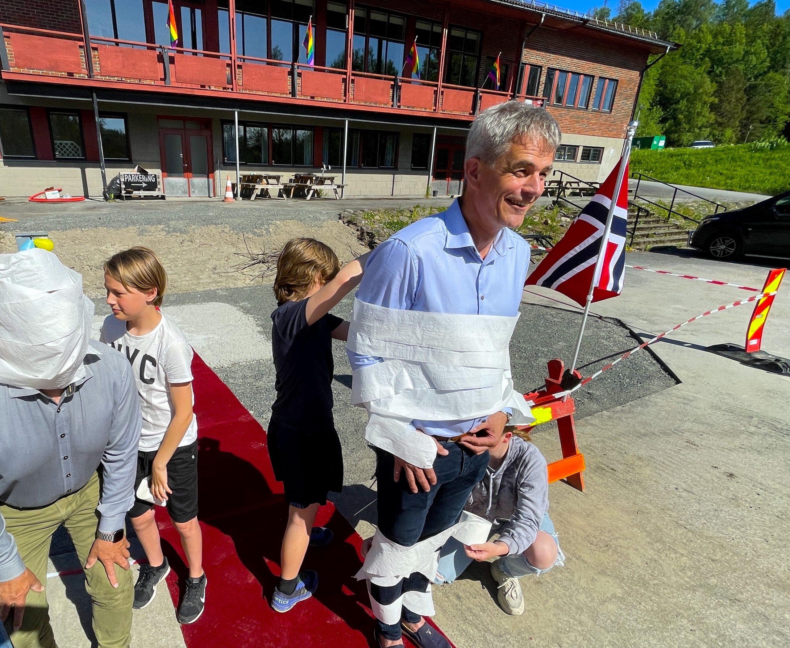 Dette har du neppe sett Bjørn Ole og Bjarne gjøre før!